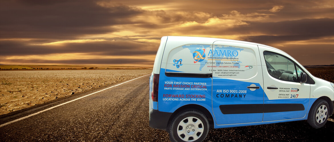 Same day delivery in Dubai - Aamro Freight & Shipping Services, UAE